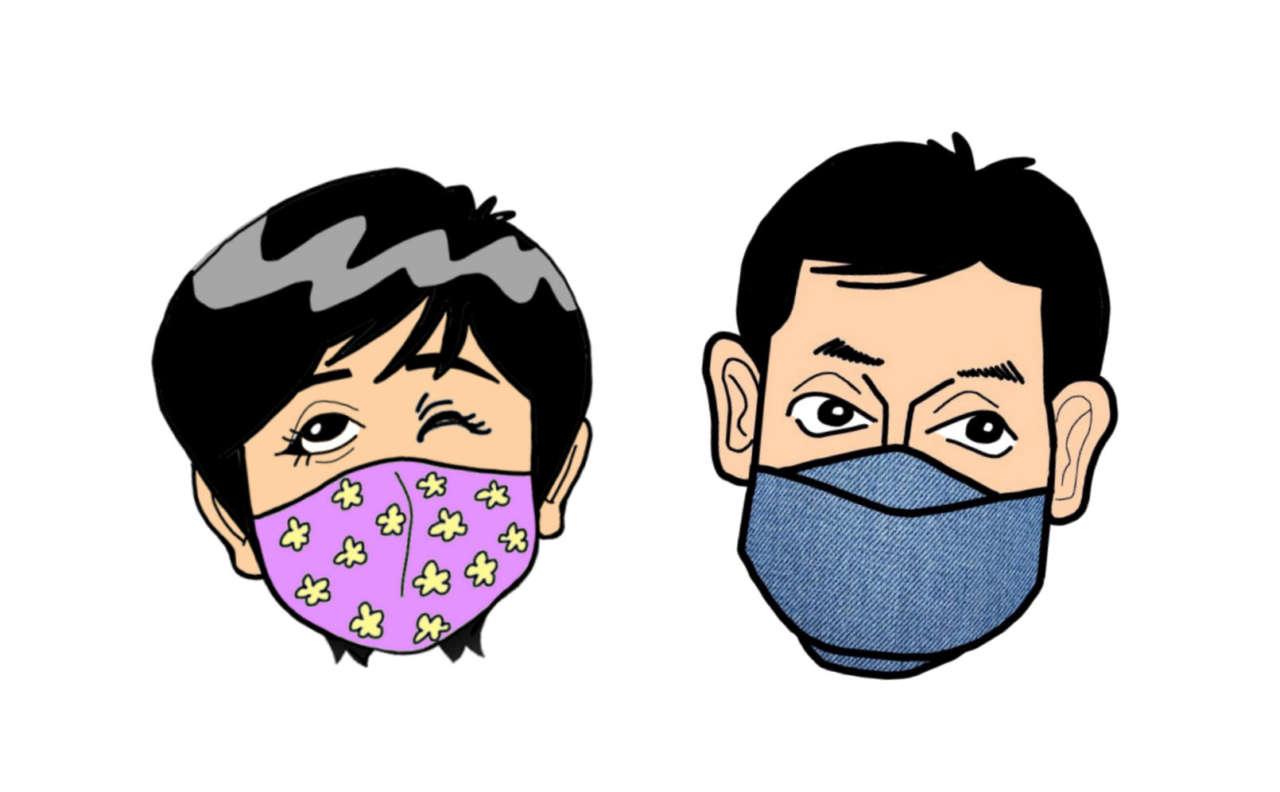 型紙 小池 知事 マスク 小池百合子のマスクの型紙無料ダウンロード4選!レース生地の購入先や作り方は?